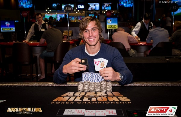 Aussie Millions 2015, episode 2: Who is this young man?