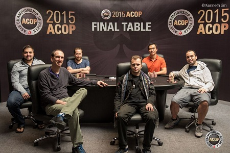 ACOP Super High Roller final table