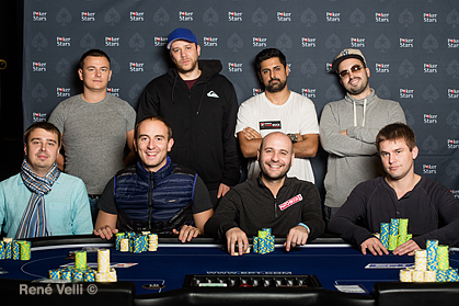 NL Holdem Single Re-Entry 10K Day3_final table