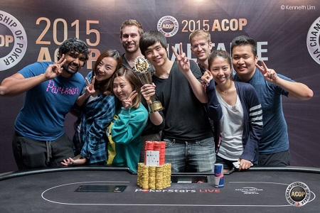 Jimmy Zhou ACOP champion