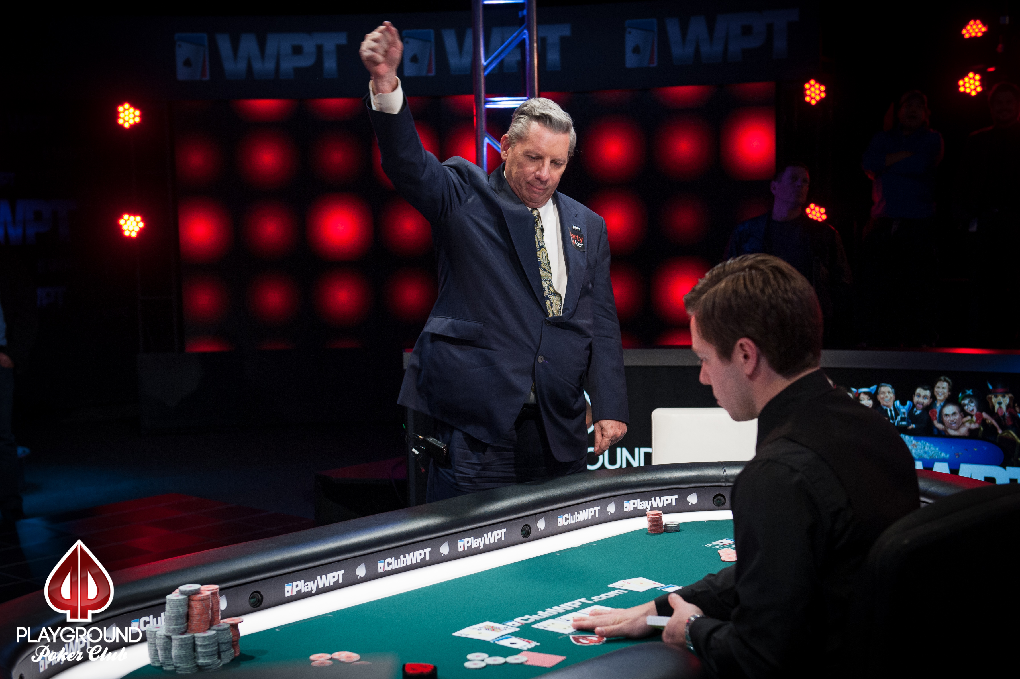 69-year-old Mike Sexton won his first WPT title