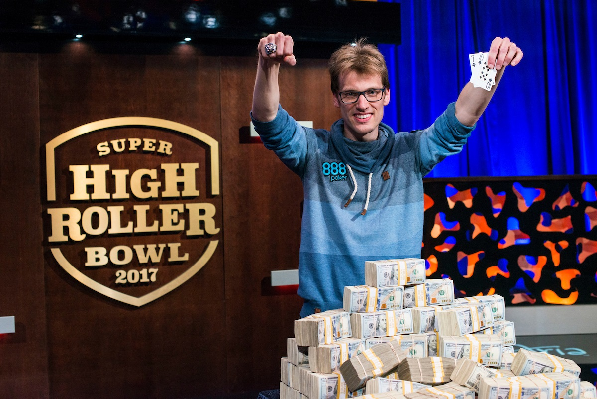 Super High Roller Bowl 2017: Фогельзанг выиграл $6,000,000!