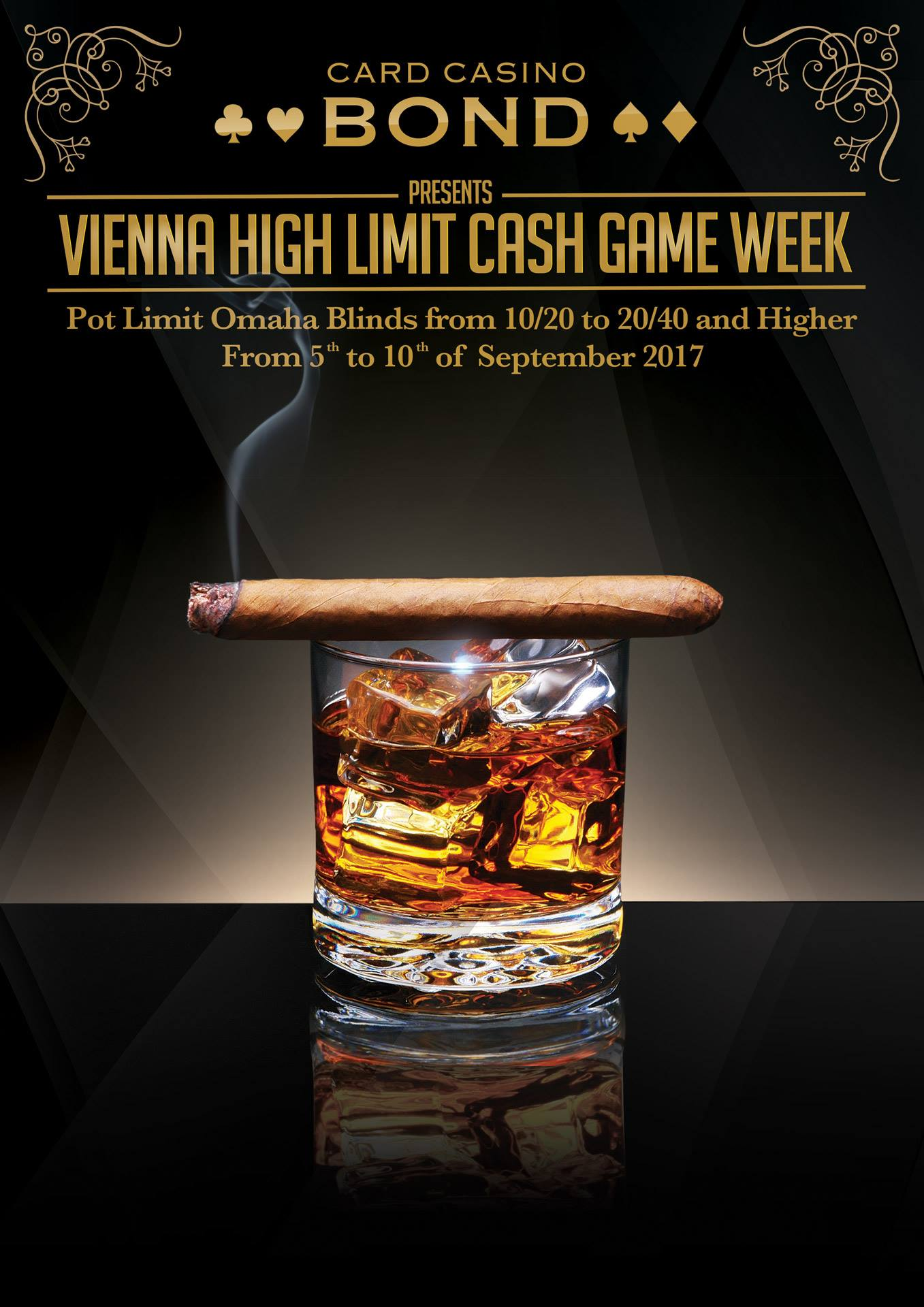 Vienna High Limit Cash Game Week