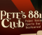 Pete's 881 Club logo